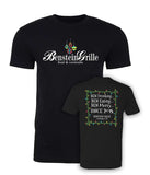 "Benstein Grille ""Ben Drinking, Ben Eating, Ben Merry"" Christmas Soft Men's T-Shirts"