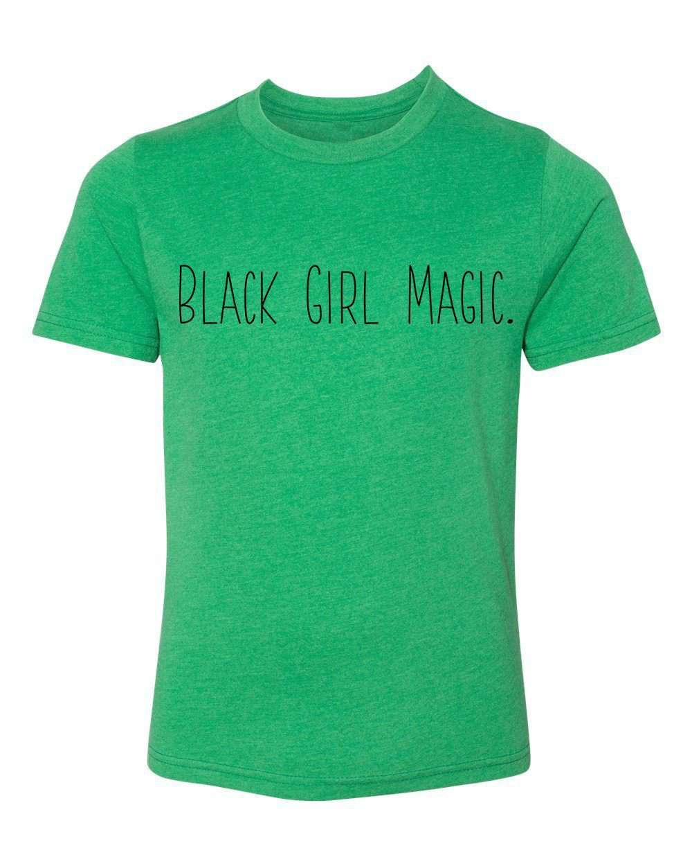 Shirt - Black Girl Magic T-shirt, Melanin Shirts For Girls