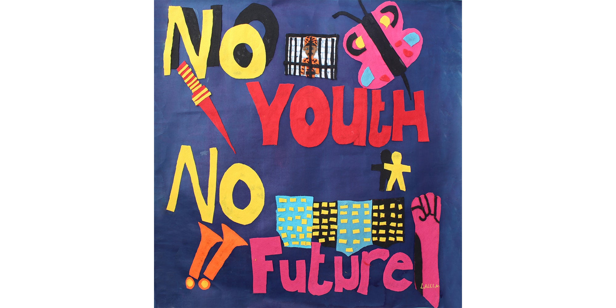 No Youth No Future Pocket Square/Bandana