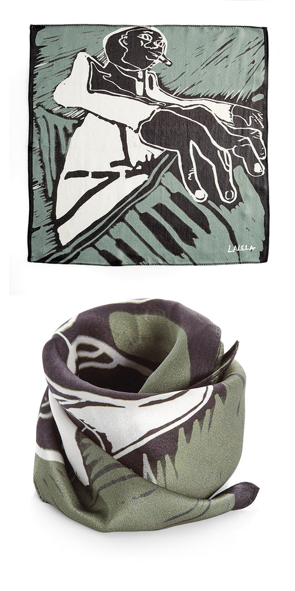 Piano Pocket Square/ Bandana