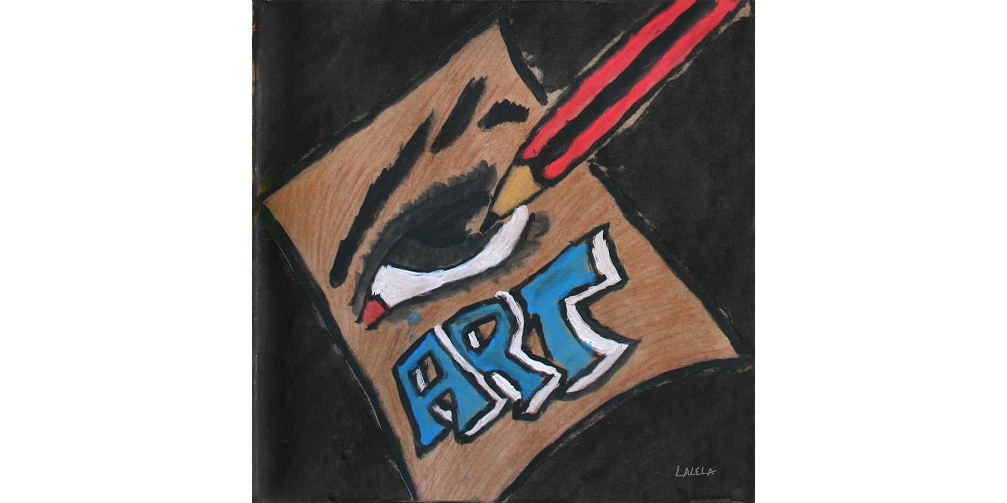 World of Art Scarf Square