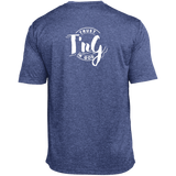 Custom Heather Dri-Fit Moisture-Wicking Tee with T in G logo on back!