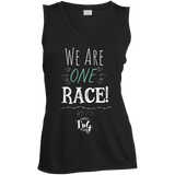 We are one race Dri-Fit tank for ladies.