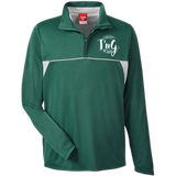 Team 365 Men's Heather Performance Lightweight 1/4 Zip