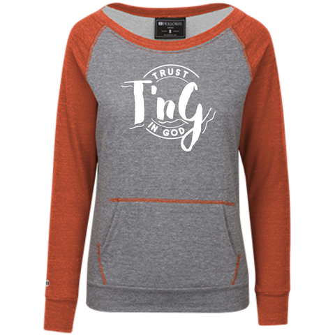 Juniors' Vintage Terry Fleece Crew