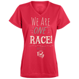 We are one race! Ladies Dri-Fit T-Shirt