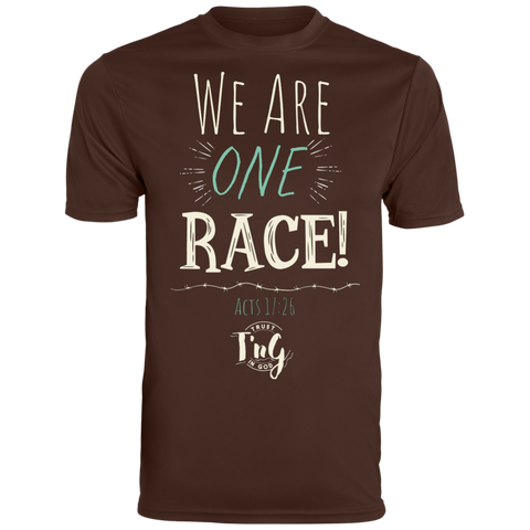 Dri-Fit T-Shirt. We are one race!