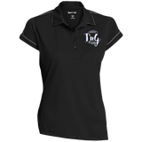 Ladies Contrast Stitch Performance Polo