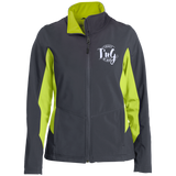 Ladies' Colorblock Soft Shell Jacket