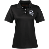 Ladies' Snap Placket Performance Polo