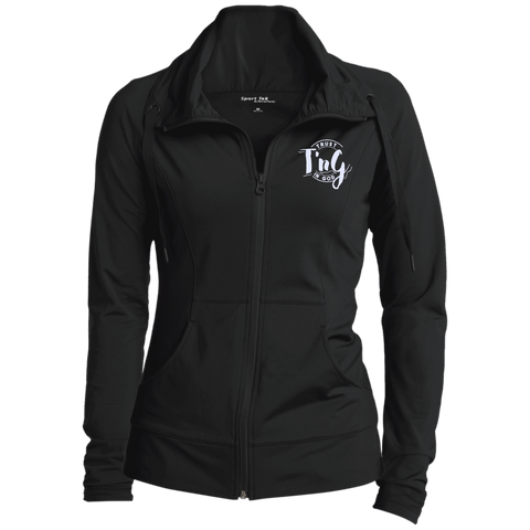 Womens Customized Stretch Full-Zip Jacket