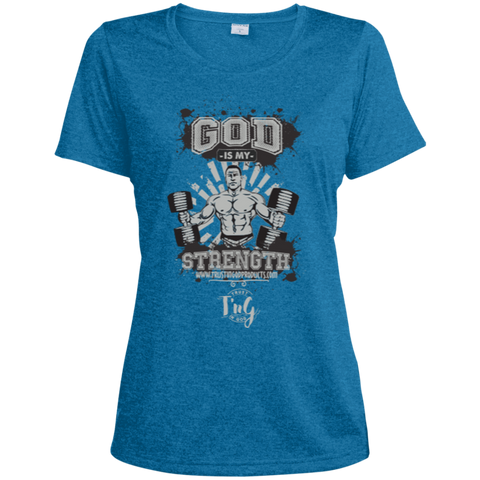 Ladies Heather Dri-Fit Moisture-Wicking Tee