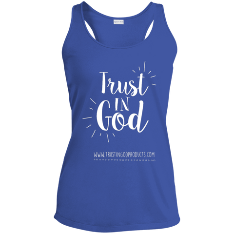 Ladies Racerback Moisture Wicking Tank