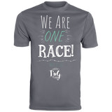 We are one race Dri-Fit tee for men!
