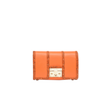 Phantom handbag in tangerine color - women's bag by Julke