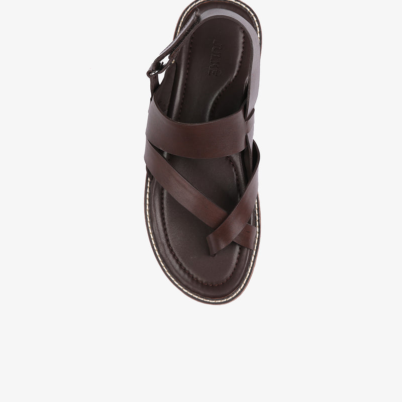 Luke Men Sandals in Brown Colour