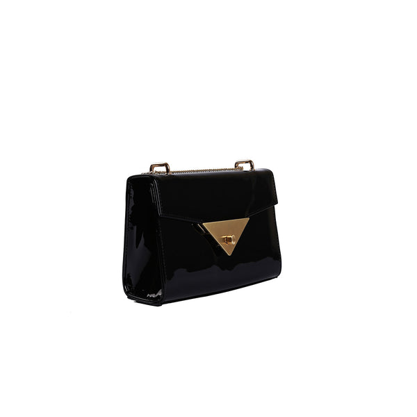 Shoulder Candy - black color handbag for women - Julke