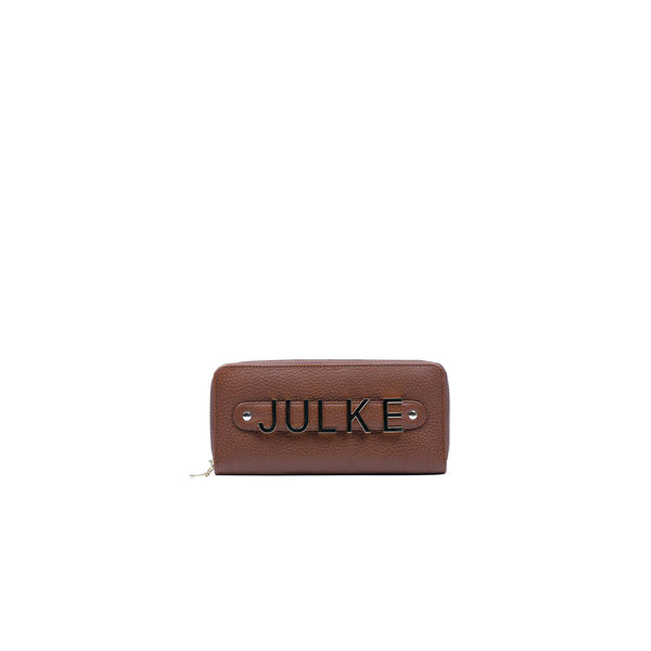 Julke Signature Wallet Tan - Women Bags