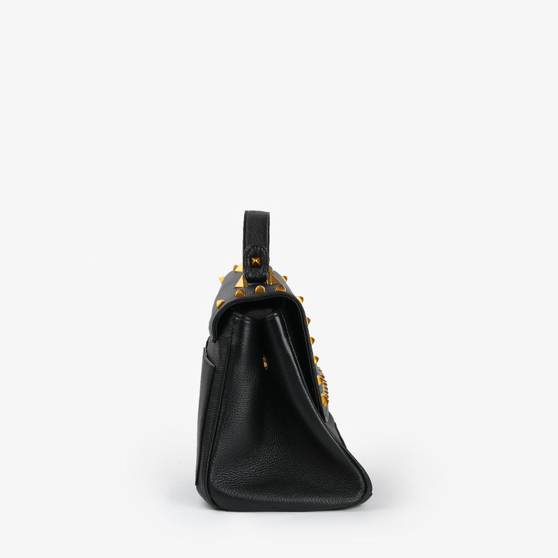 Eileen - Black Color women leather bag - Julke