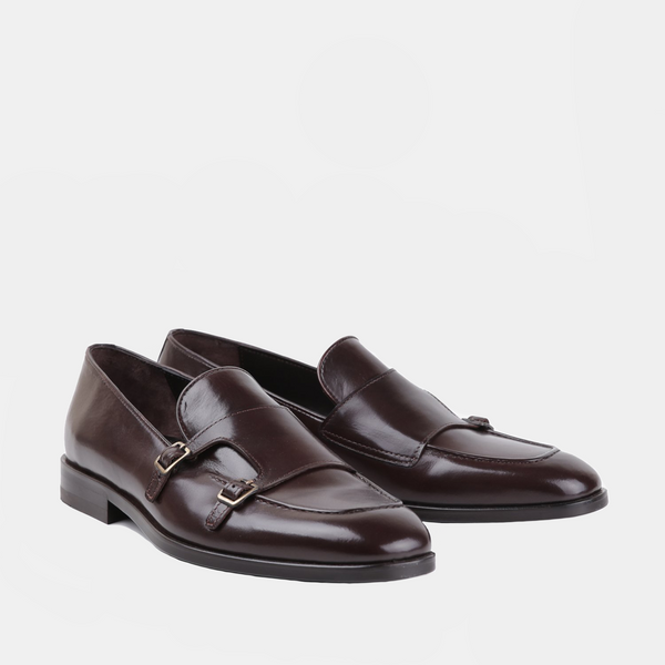 Boian - Men Leather shoes in brown color - Julke