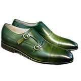 Olive Patina handmade leather shoes for men - Julke