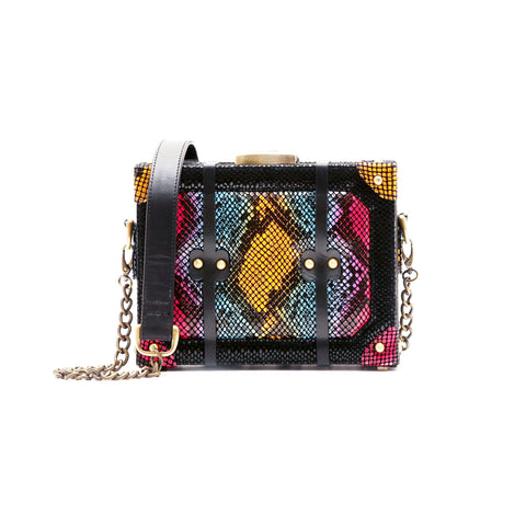 Multi Python Box Bag - Women Bags