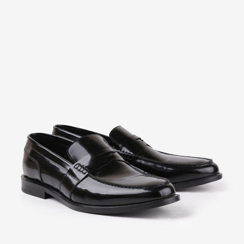 Cleo - Men leather shoes in black color for daily wear - Julke