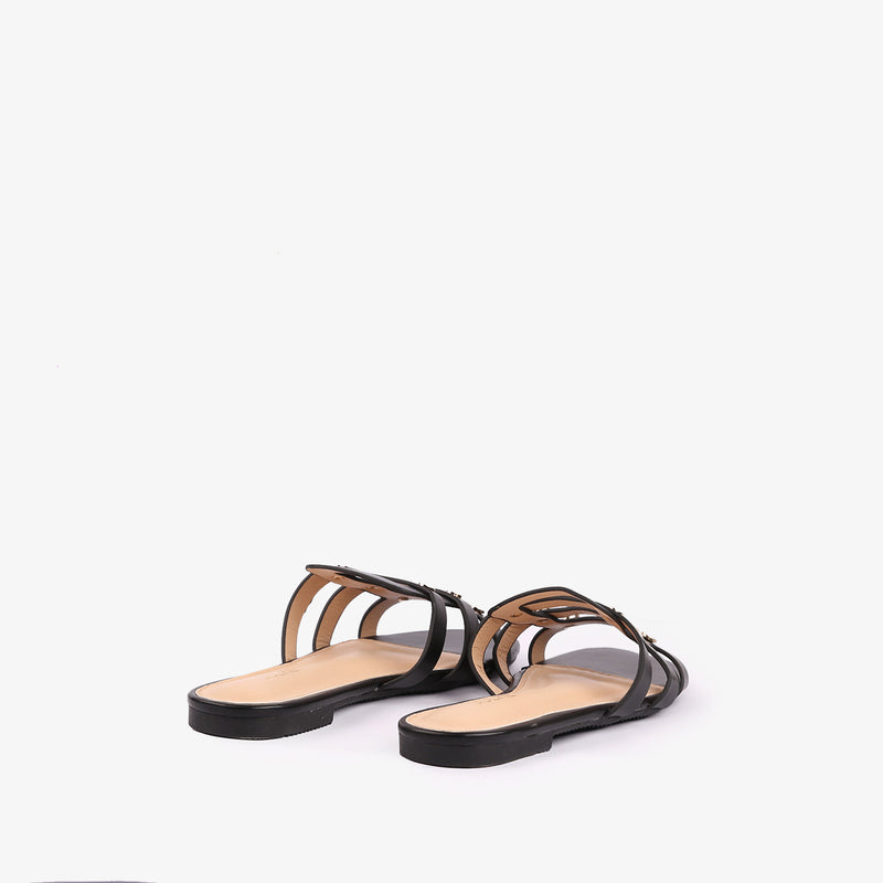 Zara - Flat Shoes for women in black color - Julke