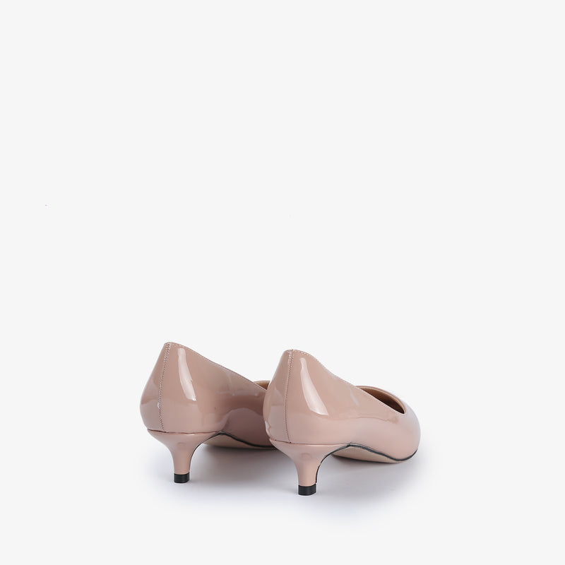 Ellen-Women shoes-Kitten Heels-Pink-Back-View-JULKÉ