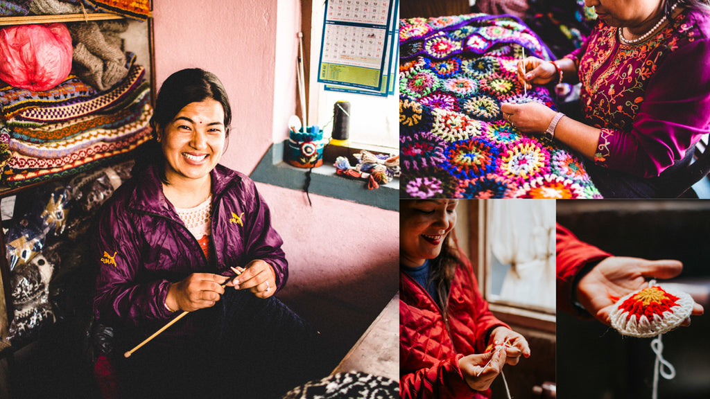 DharmaShop Handcrafted Wool Items from Nepal