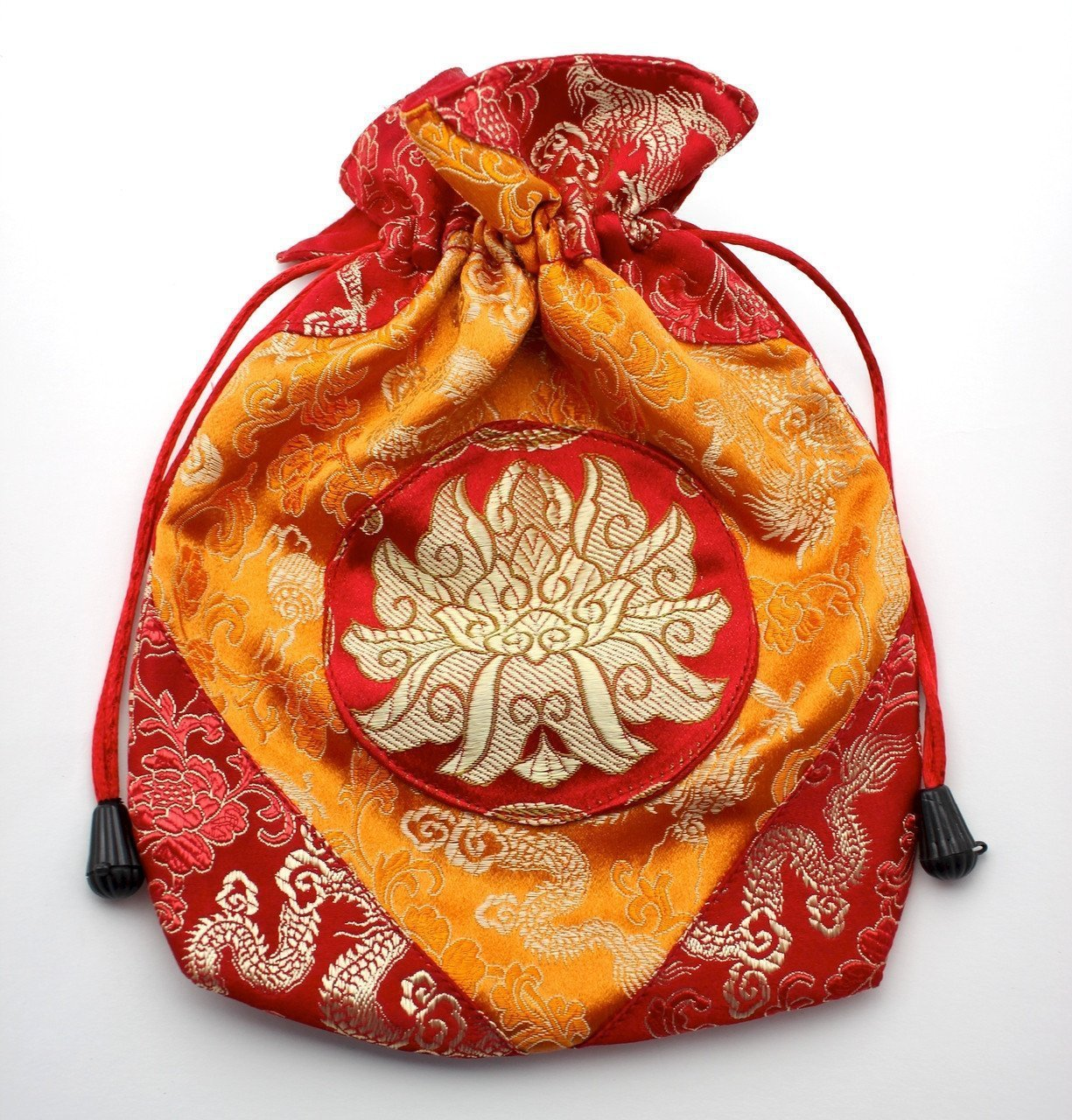 Bags Default Red Lotus Mala Bag fb107RED