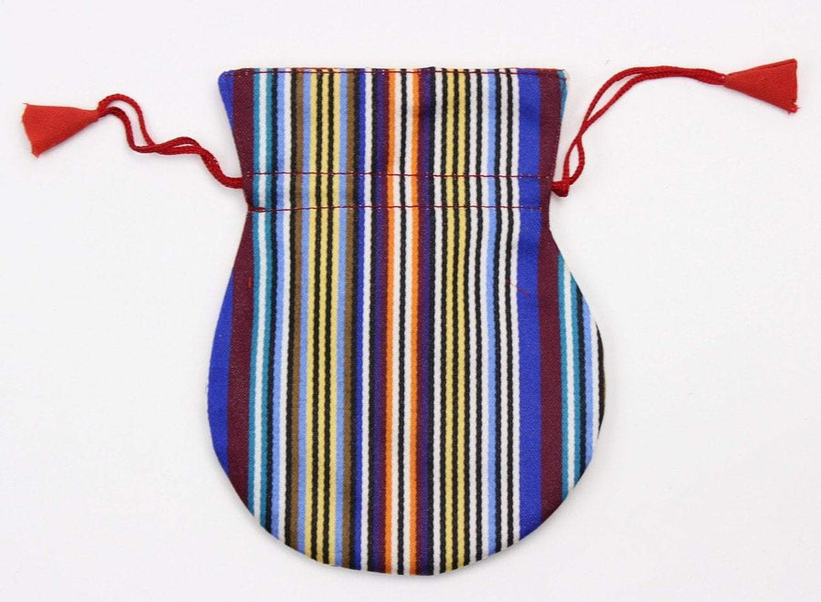 Bags Default Striped Silk Mala Bag fb177