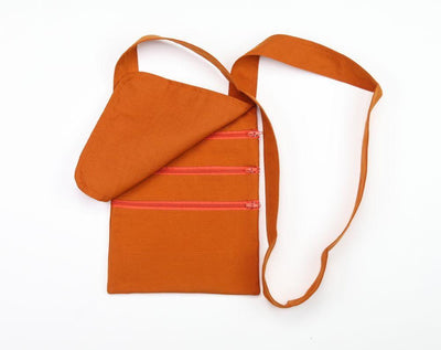 Bags Default Tashi Delek Monk's Bag in Burnt Orange fb087