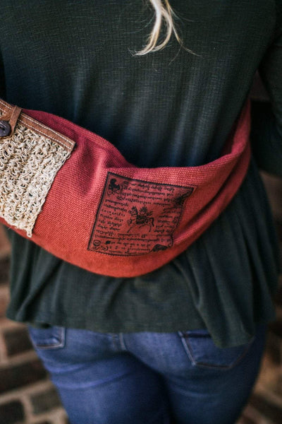 Bags Strength Prayer Flag Bag FB332-red