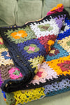 Blankets Beautiful Woolen Hand-Crocheted Blanket WO028