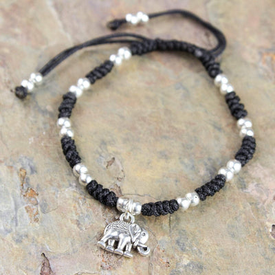 Bracelets Amazing Compassion Bracelet with Elephant Charm JB740