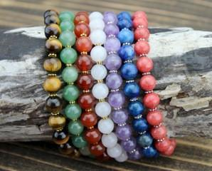 Bracelets Crown Build Your Own Chakra Bracelet Stack jb532-Crown