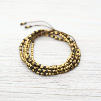 Bracelets Fashionable Brass Wrap Bracelet JB754