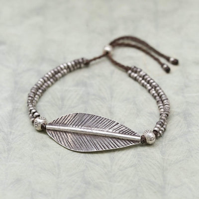Bracelets Free Spirit Feather Bracelet JB872