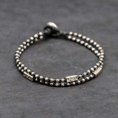 Bracelets Hill Tribe Silver Bracelet for Men JB868
