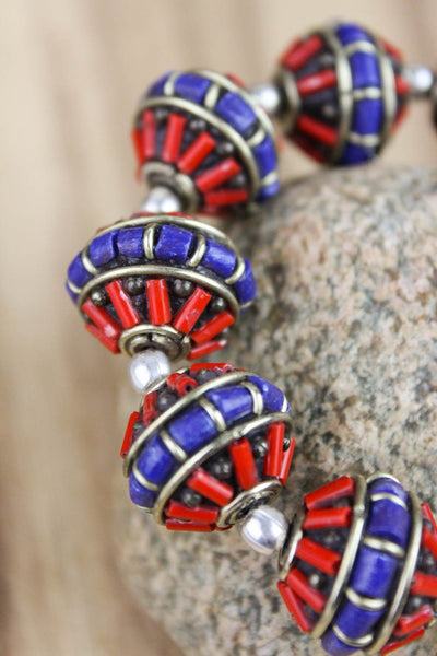 Bracelets Large Traditional Beaded Bracelet JB685