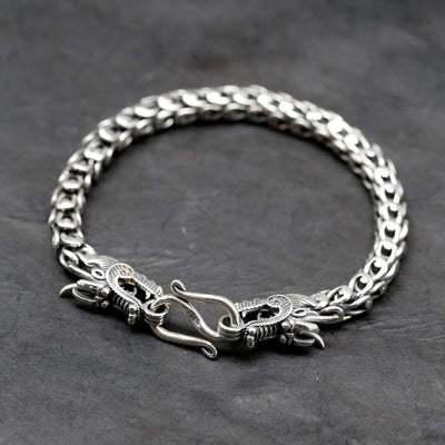 Bracelets Small Men's Dragon Bracelet JB867.SM