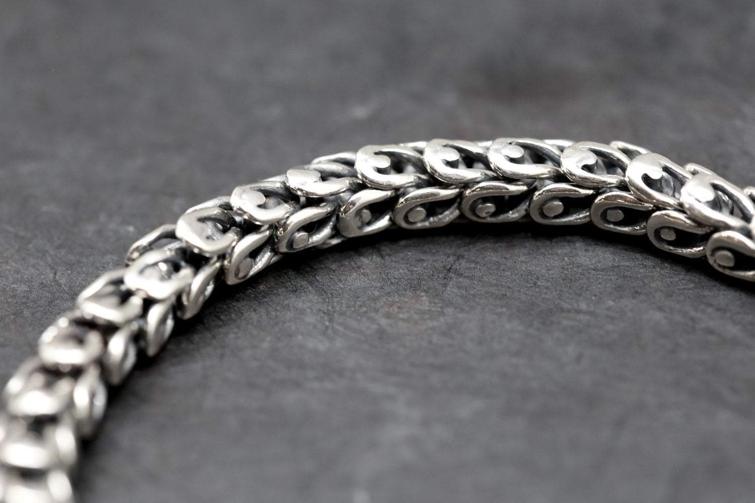 ad3d10a657314 Men's Dragon Bracelet - Handmade Sterling Silver Bracelets for Men ...