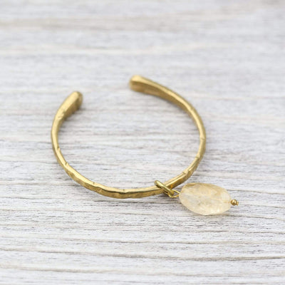 Bracelets Stone of Sunlight Bangle JB855
