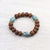 Bracelets True Turquoise and Bodhi Men's Bracelet MB010
