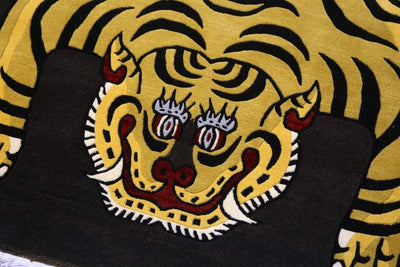 Carpets Default 6 Foot 100 Knot Tiger Rug cr003