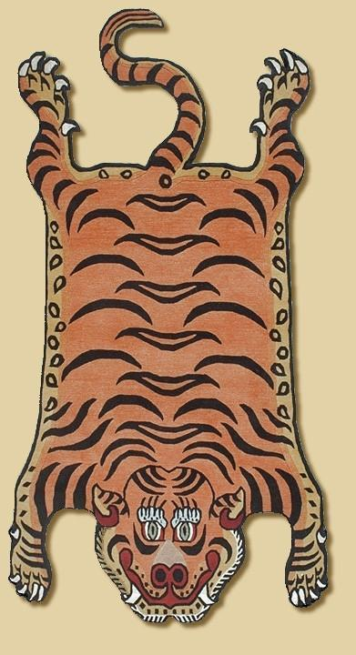 Carpets Default Original Large Tibetan Tiger Rug cr109