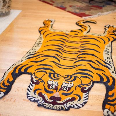 Carpets Large Tibetan Tiger Rug 04 CR053