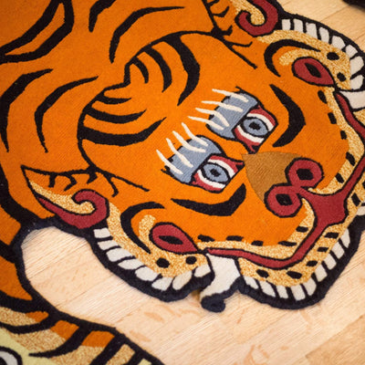 Carpets Large Tibetan Tiger Rug 08 CR057