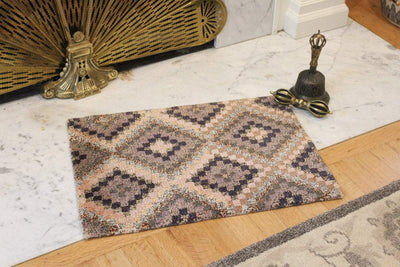 Carpets Small Geometric Tibetan Meditation Rug 01 CR063